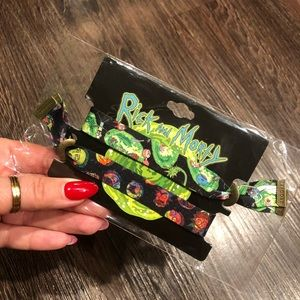 🍅 Rick and Morty fabric wristbands new
